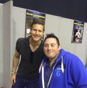 Me with Tom Hopper!