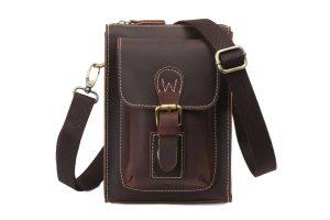 Men's Vintage Genuine Leather Shoulder Bag! Competition, Giveaway!