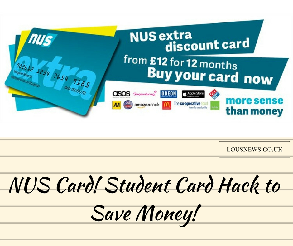 NUS Card! Student Card Hack to Save Money!