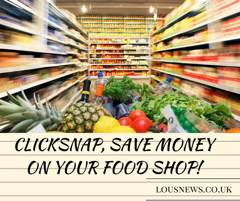 ClickSnap, save money on your food shop!