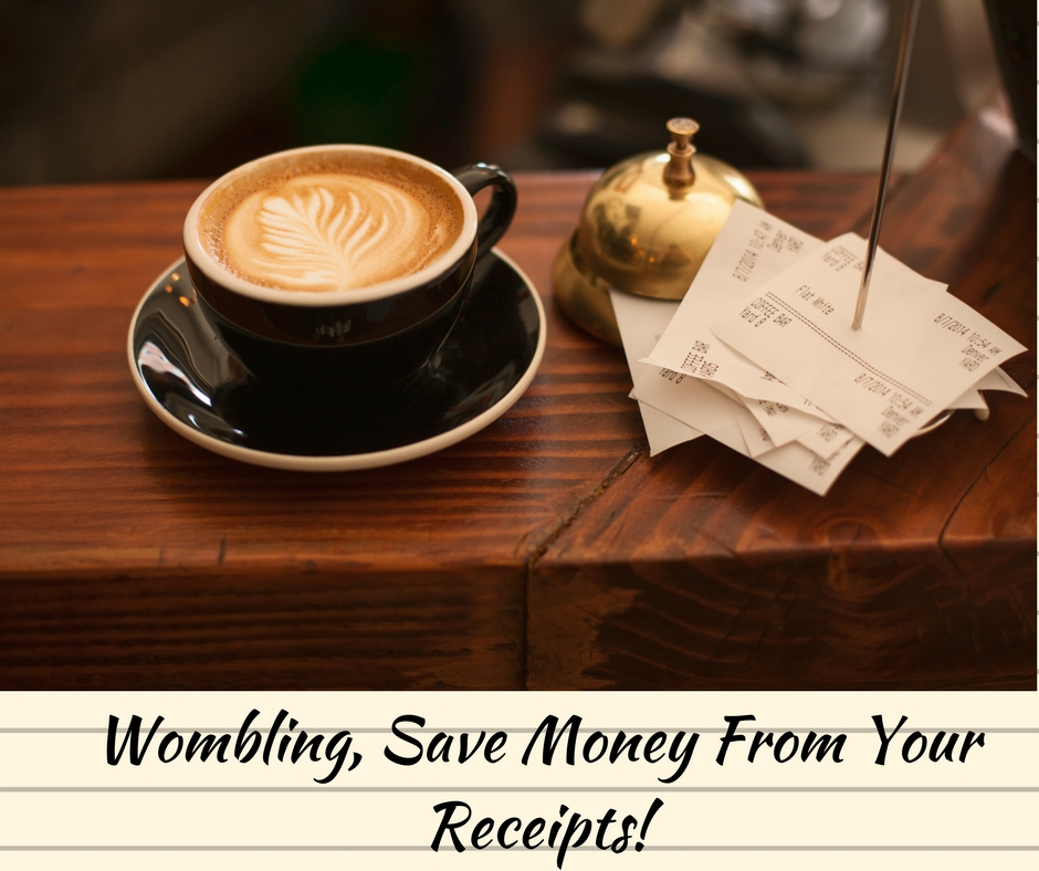 Wombling, Save Money From Your Receipts!