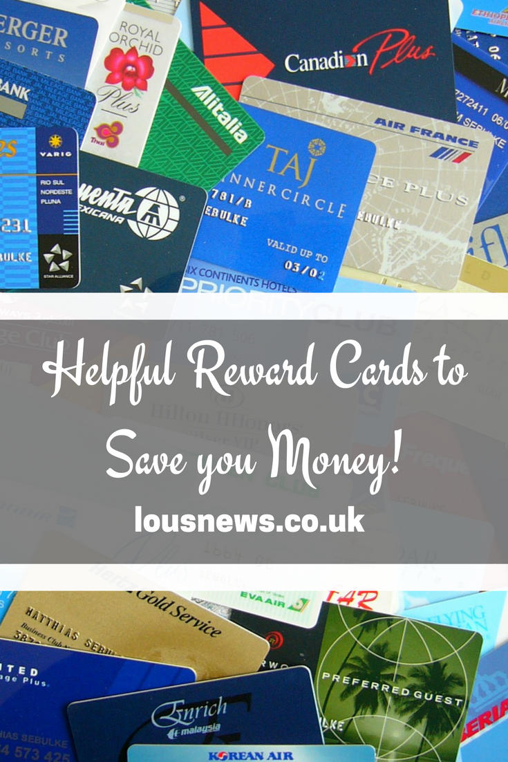 Two Helpful Reward Cards to Save you Money!