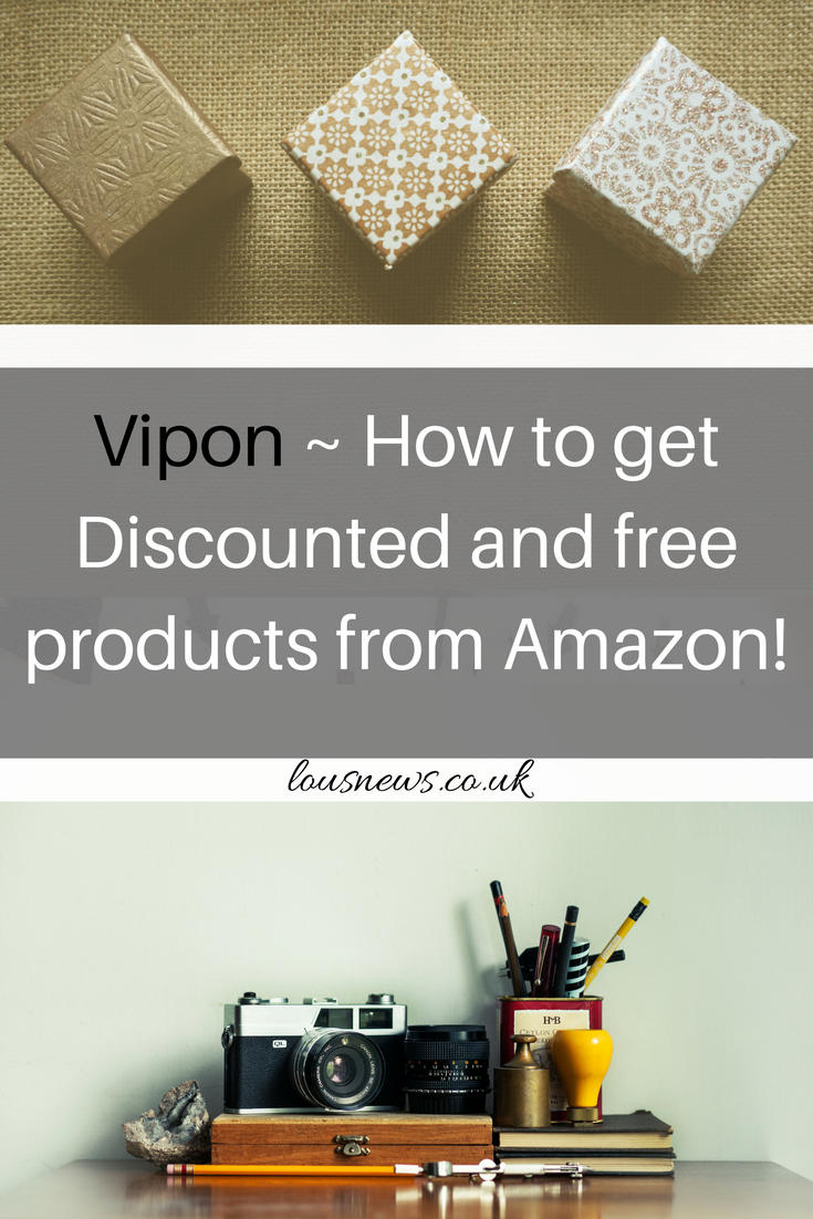 Vipon ~ How to get Discounted and free products from Amazon!