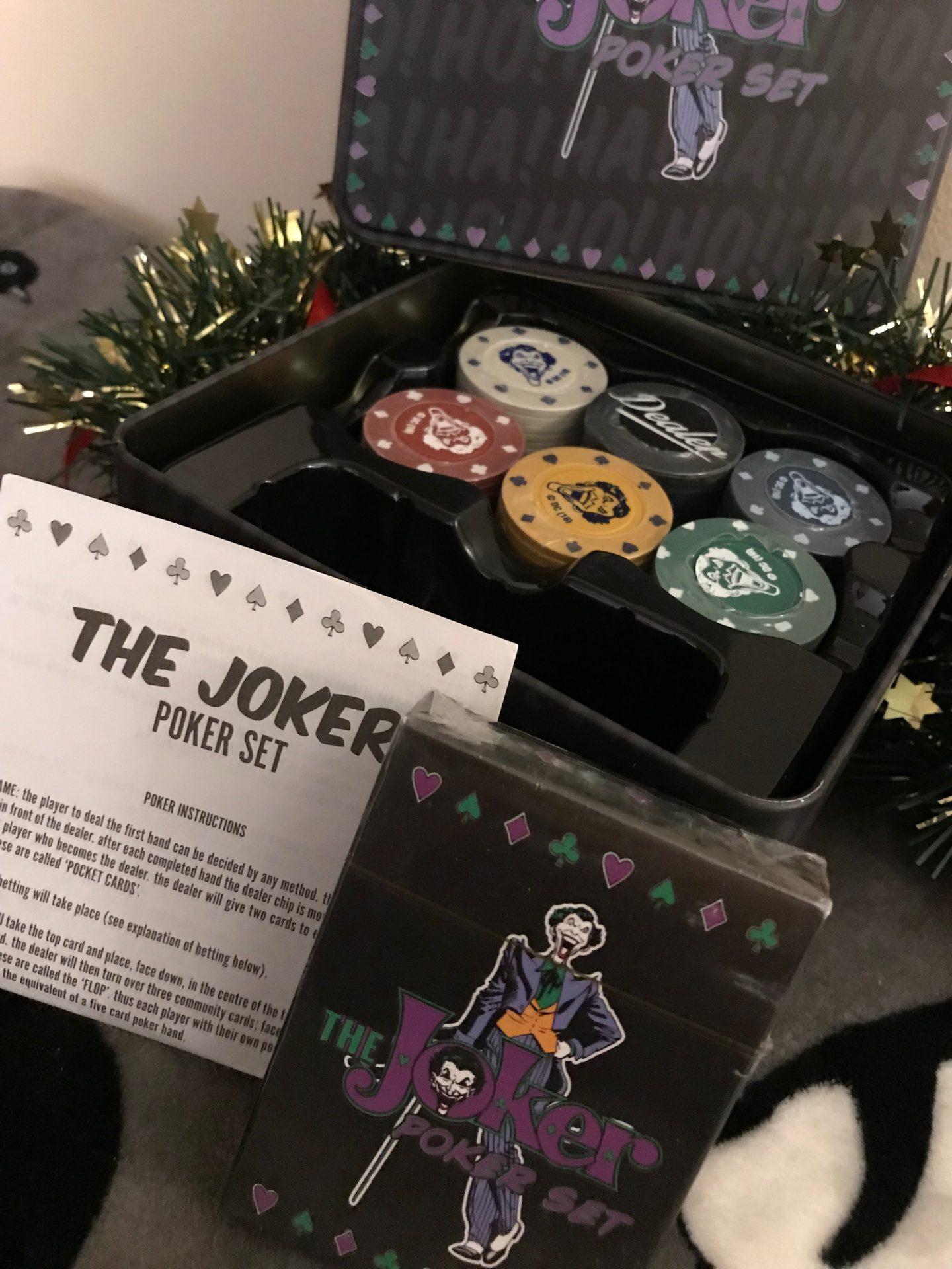 Joker Poker Gift Set