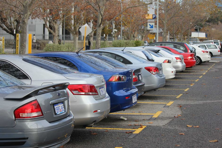 car park full up