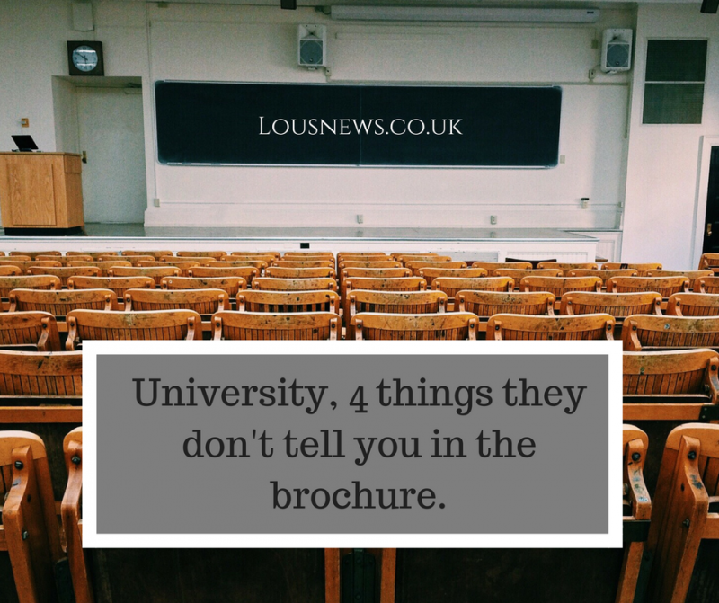 University, 4 things they don't tell you in the brochure.
