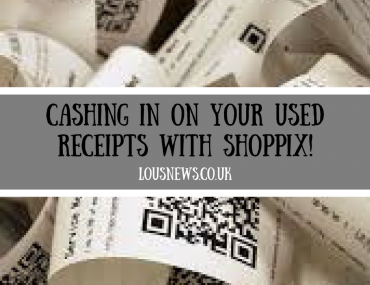 Cashing in on your used receipts with Shoppix!