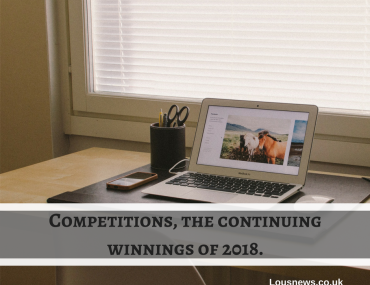 Competitions, the continuing winnings of 2018.