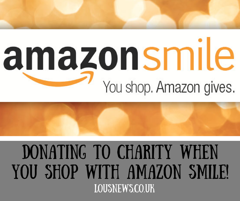 Donating to charity when you shop with Amazon Smile!