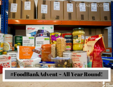 #FoodBankAdvent ~ All Year Round!