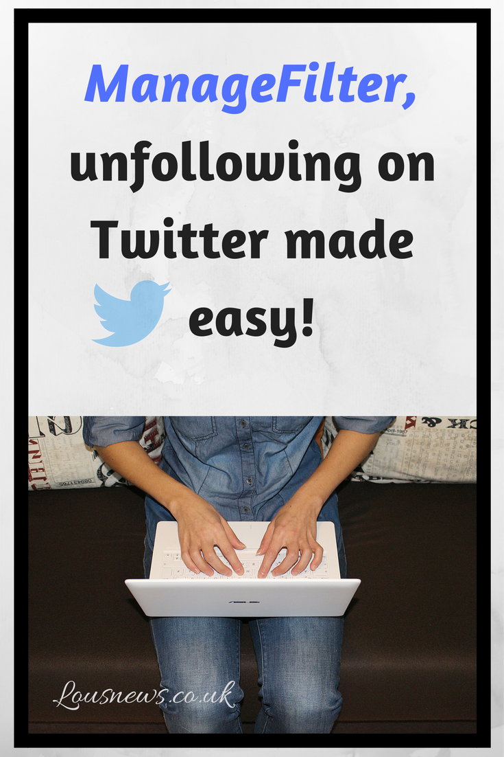 Managefilter, unfollowing on Twitter made easy