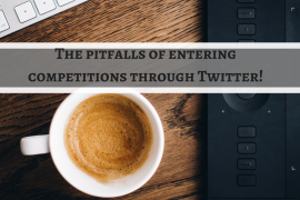The pitfalls of entering competitions through Twitter