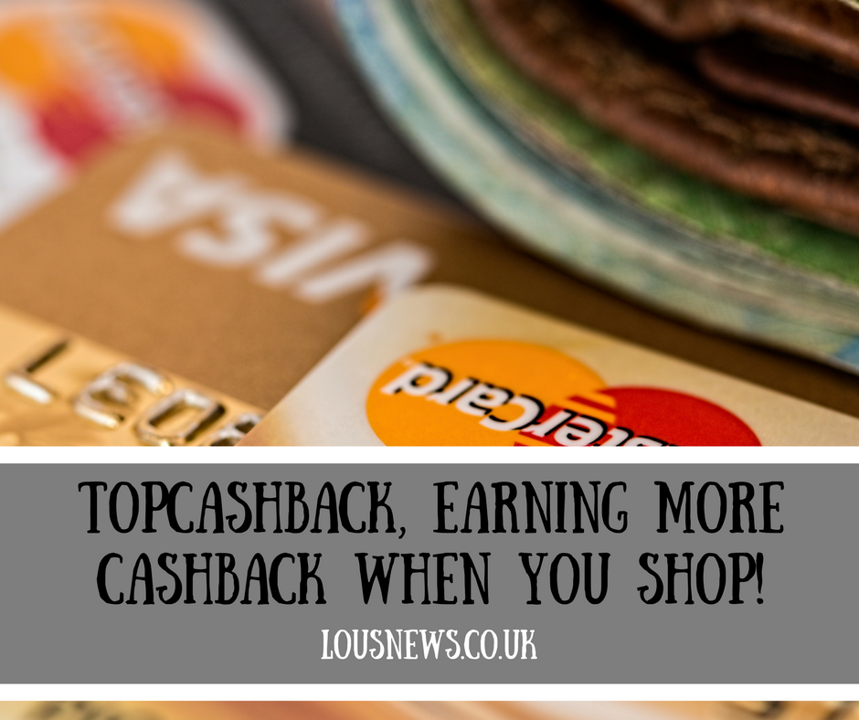 TopCashBack, Earning more Cashback when you shop!