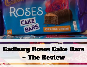 Cadbury Roses Cake Bars ~ The Review