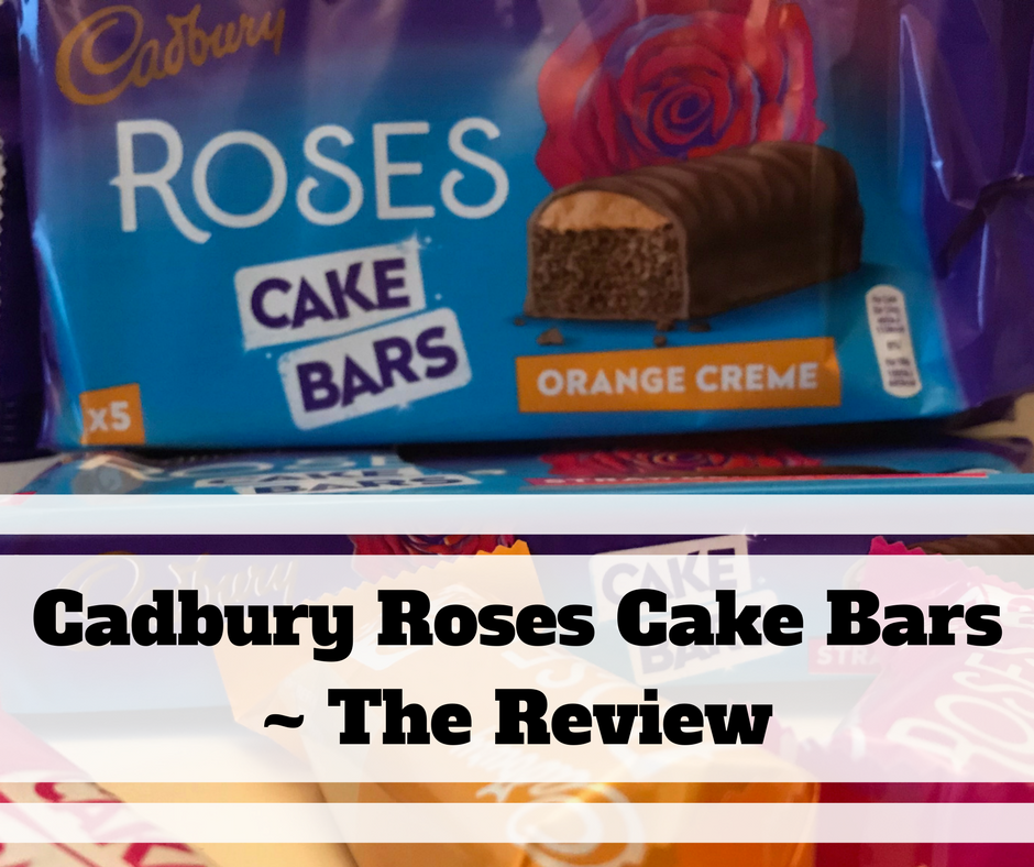 Cadbury Roses Cake Bars ~ The Review