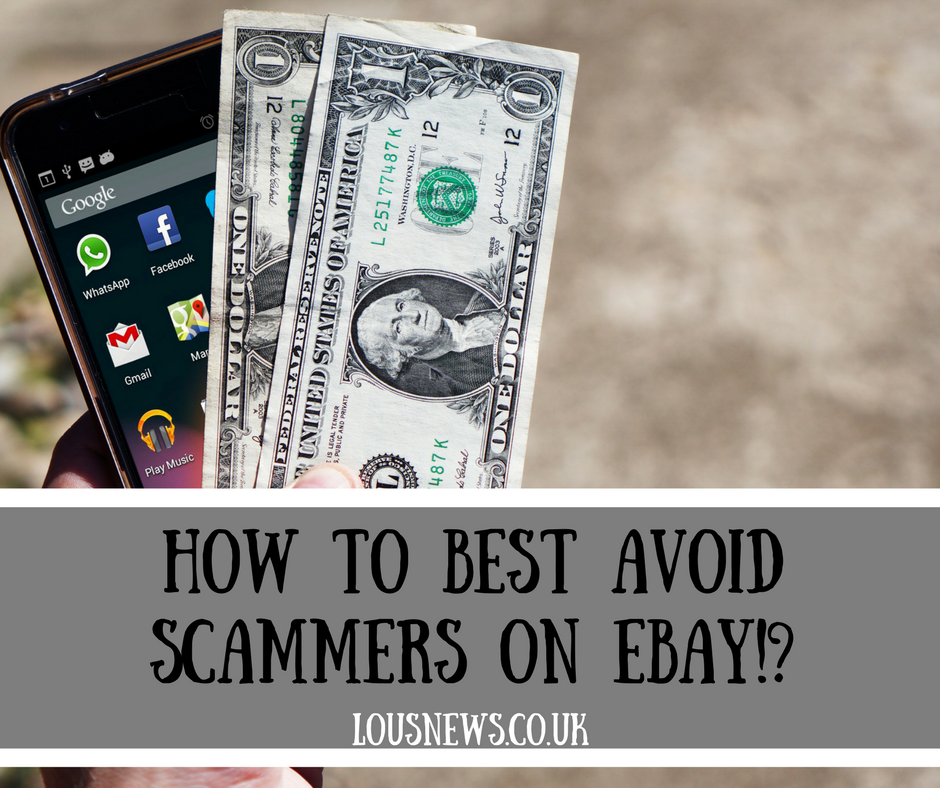 How to best avoid scammers on Ebay!?