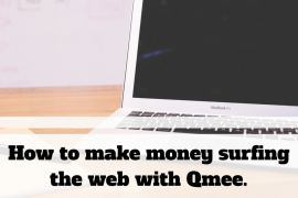 How to make money surfing the web with Qmee.
