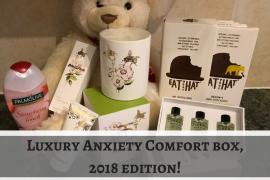 Anxiety comfort box