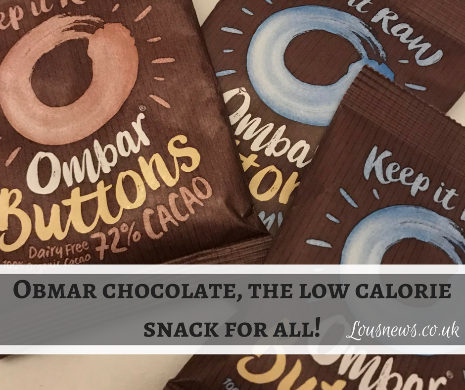 Obmar chocolate, the low calorie snack for all!