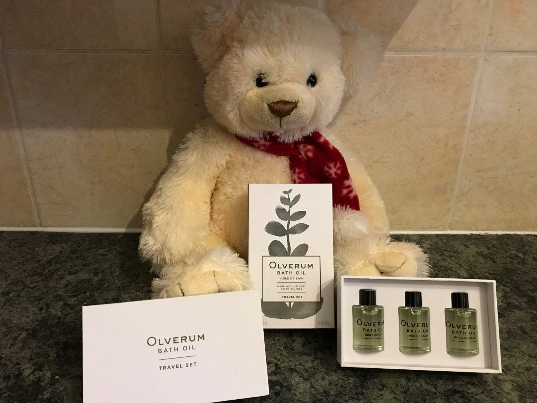 Olverum bath oils