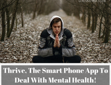 Thrive, The Smart Phone App To Anticipate Mental Health!