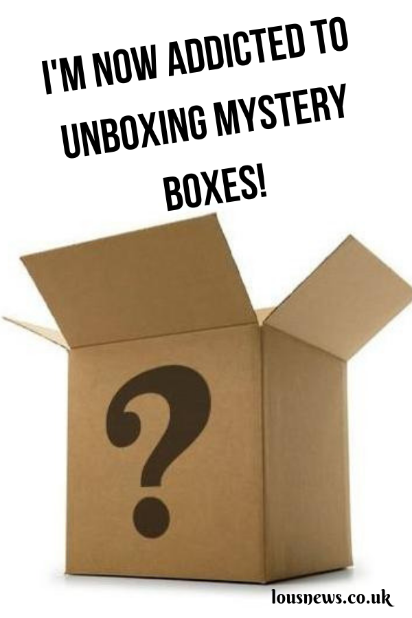 I'm Now Addicted To Unboxing Mystery Boxes!