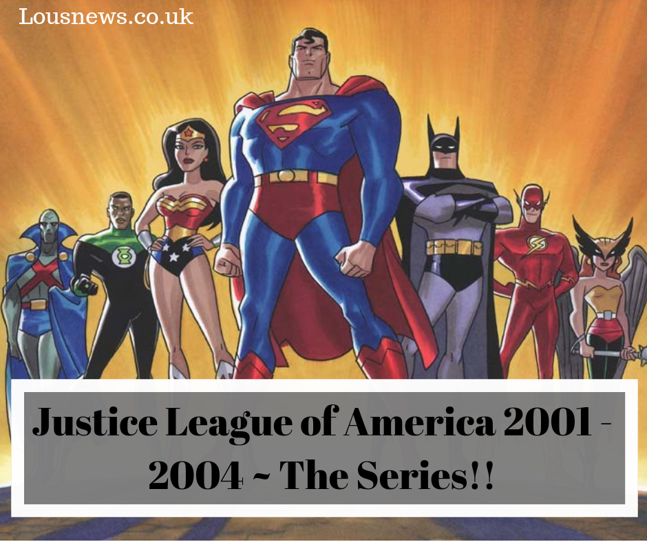 Justice League of America 2001 - 2004 ~ The Series!!