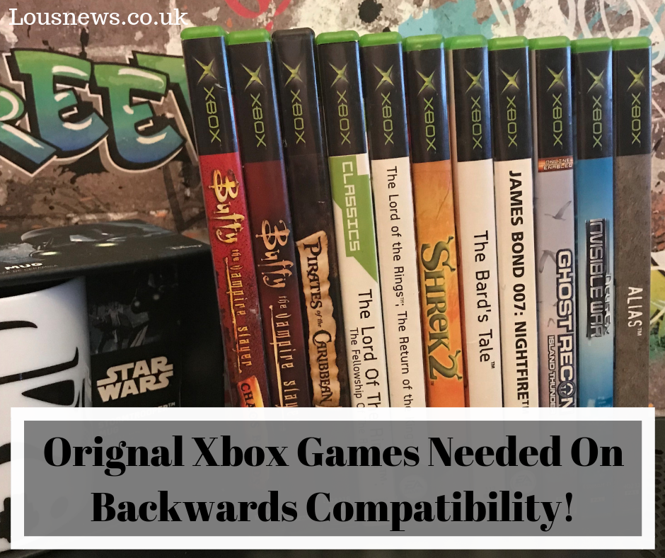 Orignal Xbox Games Needed On Backwards Compatibility!