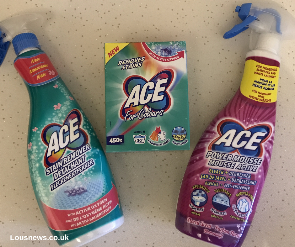 6 Effective Easy Ways To Clean The Kitchen. ACE cleaning products.