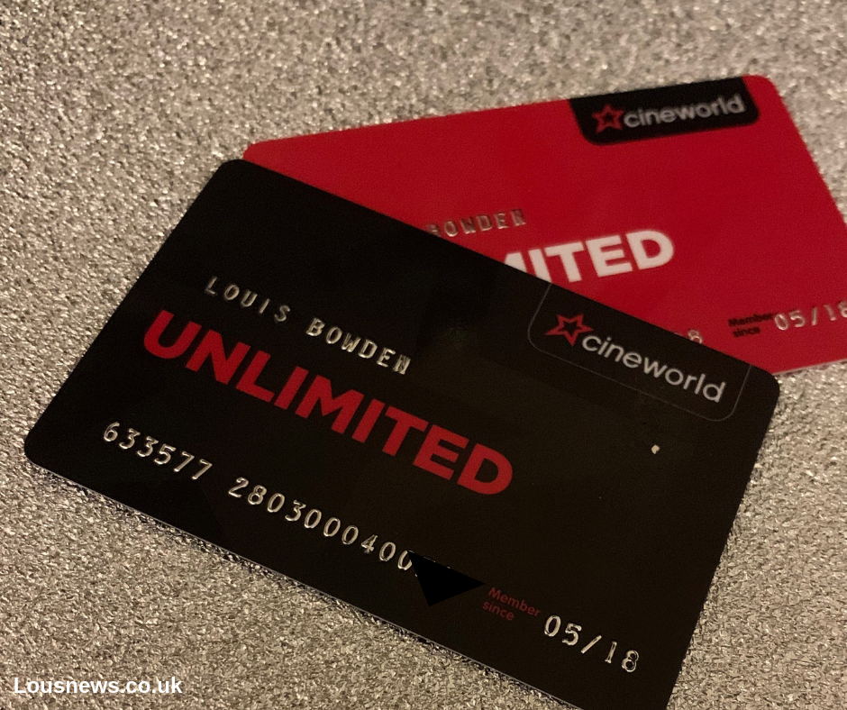 Everything You Need To Know About The Cineworld Unlimited Card