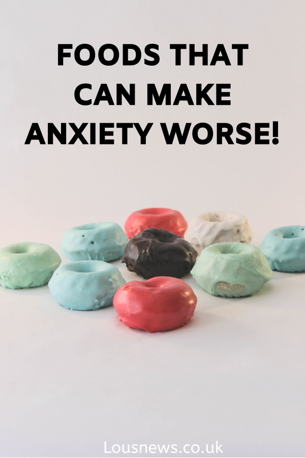 Foods that can make anxiety worse!