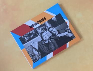 Motif photo album book