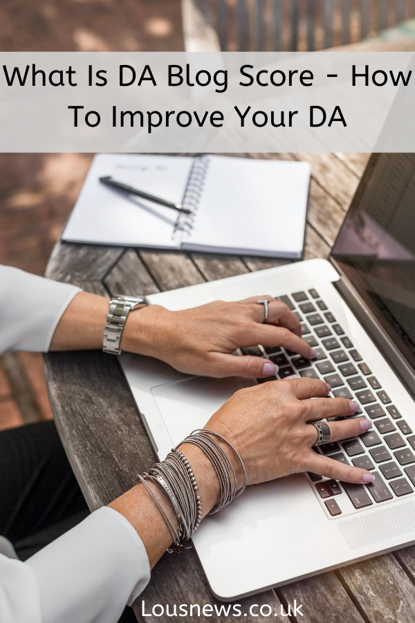 What Is DA Blog Score - How To Improve Your DA
