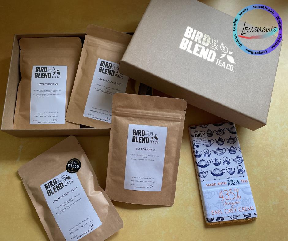 Bird & Blend Tea Co. Tea Set