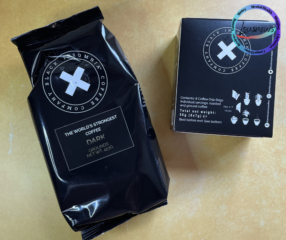 The black insomnia coffee company Fathers day gifts